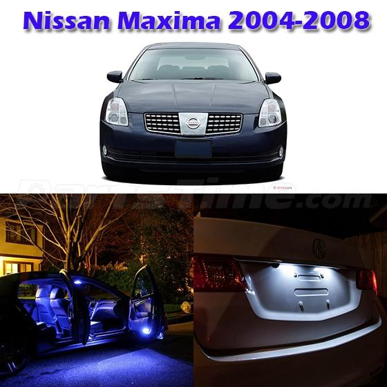 10x Blue Interior Led Lights Replacement Package Kit Fit: 13 Blue LED Light Interior Package Full Set Kit For Nissan