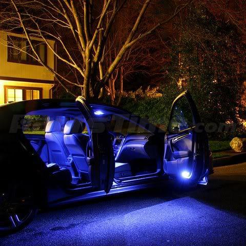 13 Blue Led Light Interior Package Full Set Kit For Nissan Maxima 2004 2008 Gift Ebay