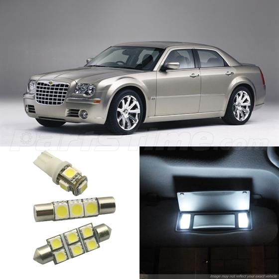 15x Full Set Led Light Interior Bulb Package For Chrysler 300 300c 2009 2015