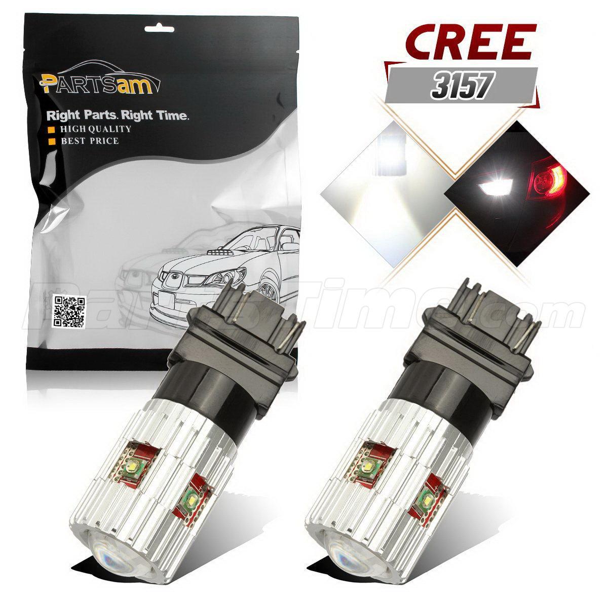 2005 2009 ford mustang 2x hid white 921 led reverse light bulb backup - 2x 4057 White High Power 25w Cree Led 3157 T25 For Backup Reverse Light Bulbs