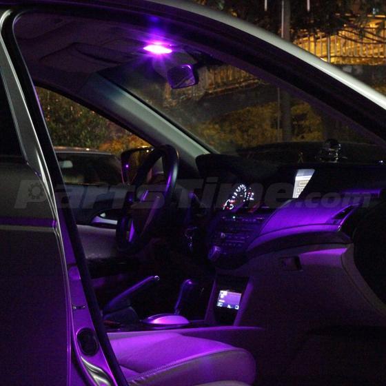 6 pink purple lights interior package for map t10 dome license plate led ebay. Black Bedroom Furniture Sets. Home Design Ideas