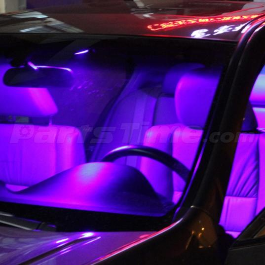 6 pink purple lights interior package for map t10 dome license plate led ebay