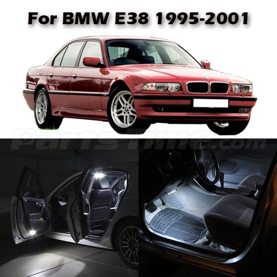 Bmwfort Package 3 Series: 16x White LED Light Package For BMW E38 7 Series Reading