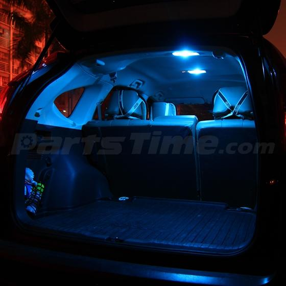 11 pcs ice blue led light interior package for ford f 250 f 350 f 450 2005 2016 ebay. Black Bedroom Furniture Sets. Home Design Ideas