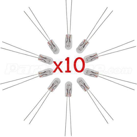 10x 4 7mm 12v 14v For Gm Chevy Gauge Cluster Speedometer