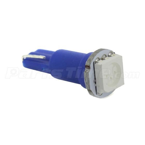 10x Blue T5 74 37 73 257 5050 SMD Instrument Speedo Dash