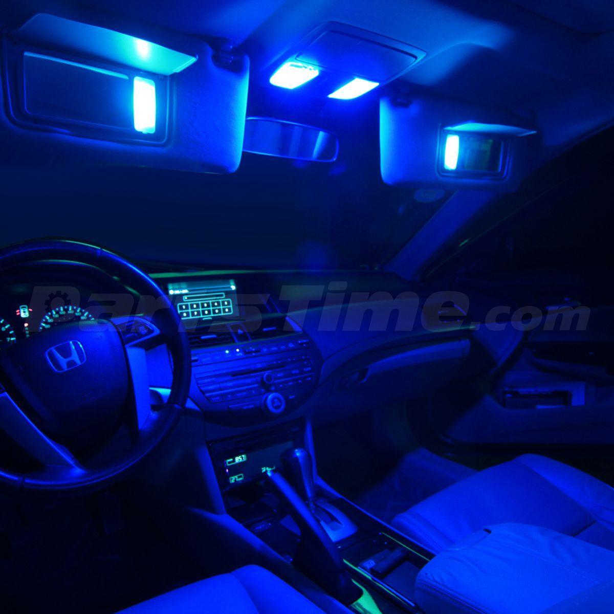 6x Blue Led Light Interior Bulbs Package For 2008 2014 Dodge Challenger Ebay