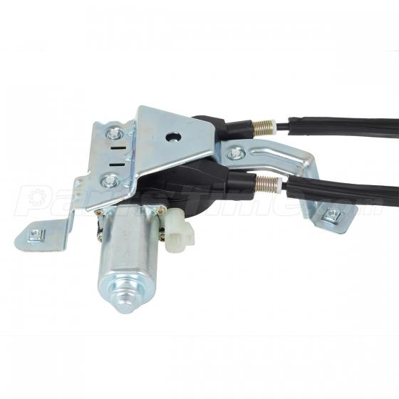 New rear left side power window regulator with motor for for 03 cadillac deville window regulator