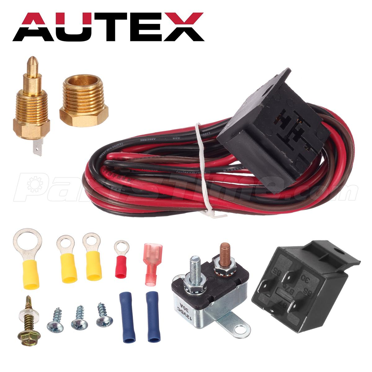 185 Degree Engine Cooling Fan Thermostat Temp Switch