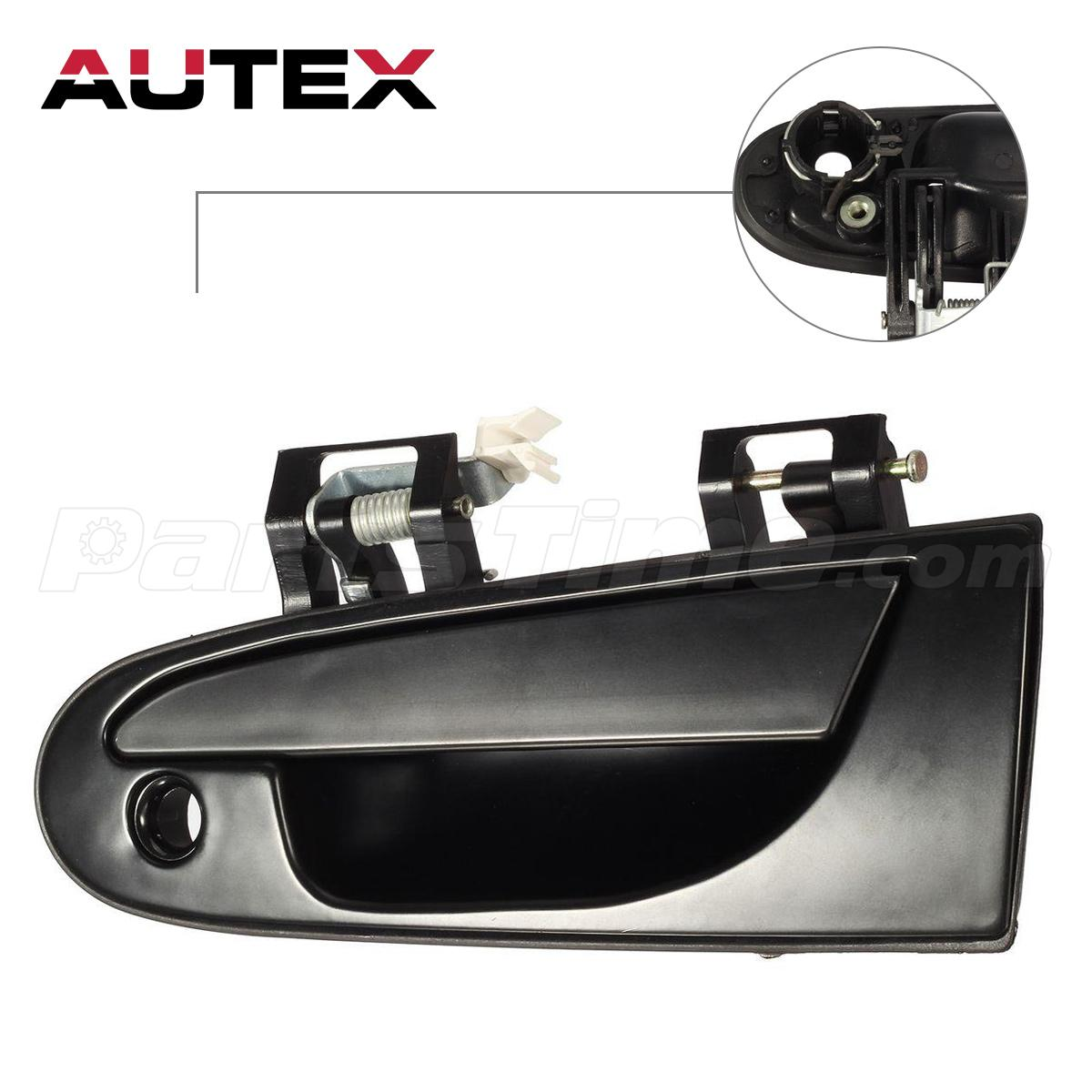 For 1995 1999 mitsubishi eclipse outer exterior front left for 1999 honda civic window crank handle