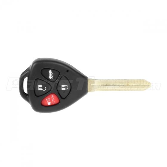 new remote uncut key shell fob fits toyota camry 2007 2008. Black Bedroom Furniture Sets. Home Design Ideas