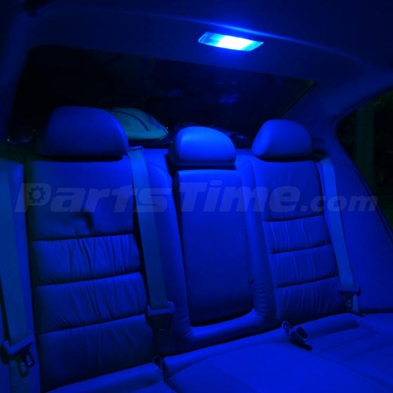 8x Blue Lights Smd Led Interior Package Kit For 2014 Up Toyota Corolla S Le
