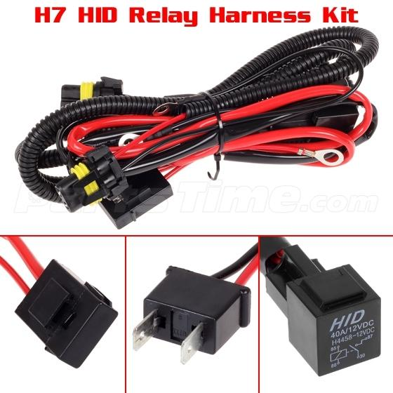 h7 hid conversion kit relay wiring harness for fog light headlight relay wiring kit headlight wiring kit clk55 amg 2002