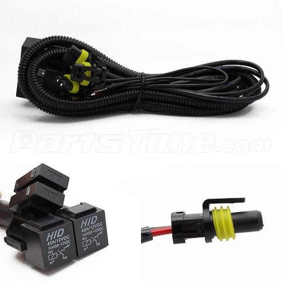 h hb high low beam headlight dual relay wiring harness for h4 9003 hb2 high low beam headlight dual relay wiring harness for hid conversion