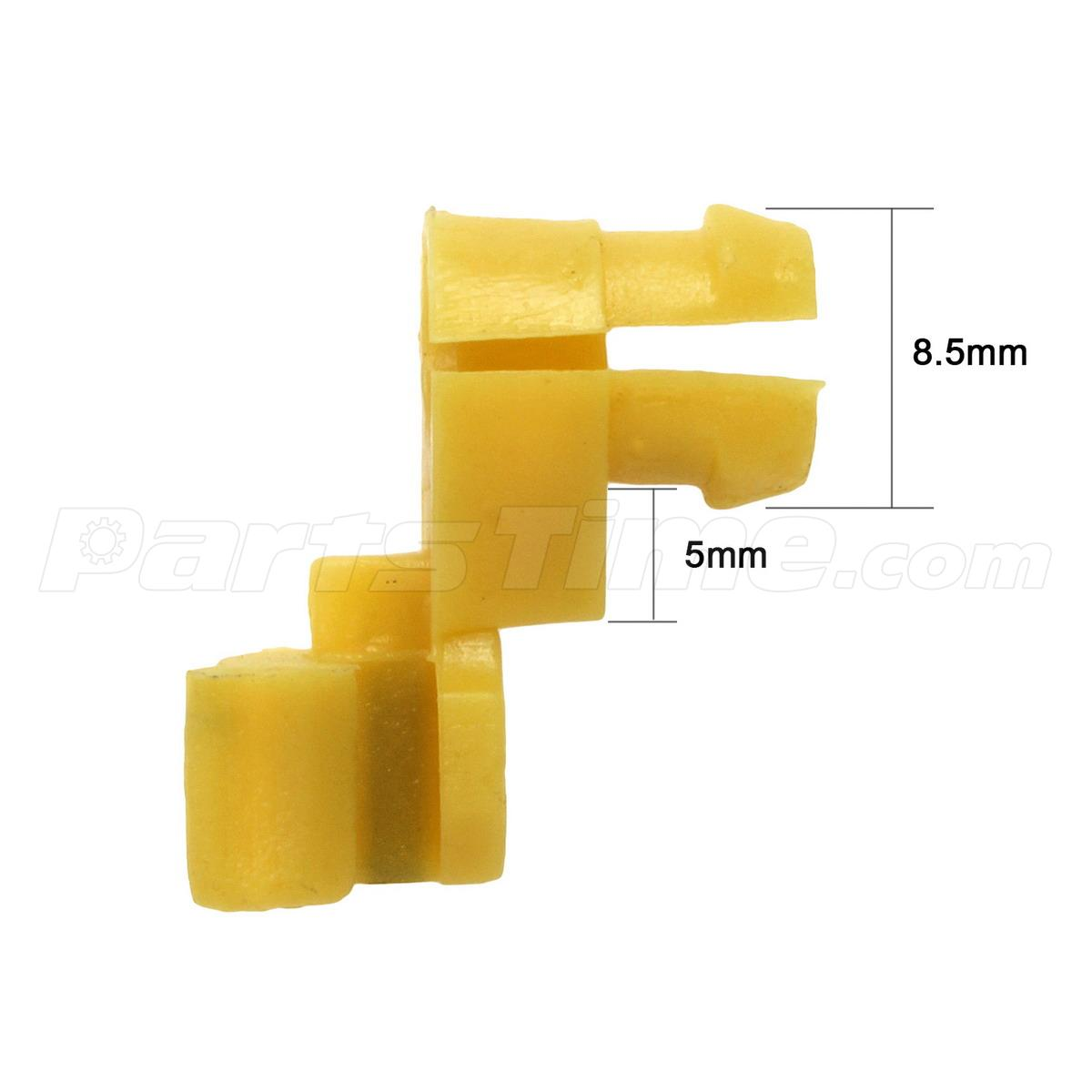 20 Door Lock 5mm Rod Clip Driver Side Handle Retainer For