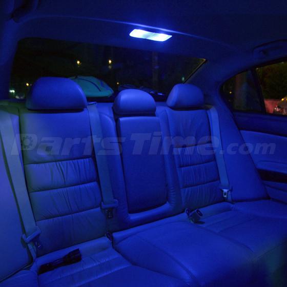 9x bright blue led dome interior light kit for chevrolet - 2006 nissan altima interior led lights ...