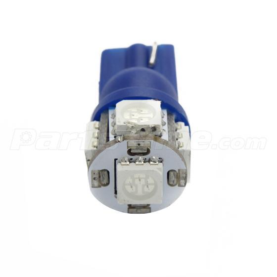 9x Bright Blue LED Dome Interior Light Kit For Chevrolet