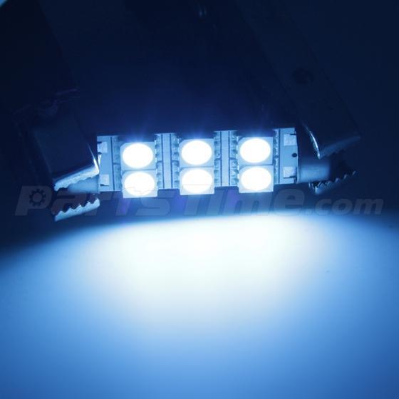 10x New Smd Ice Blue Led Lights Interior Package Kit For 1999 2006 Gmc Sierra Ebay
