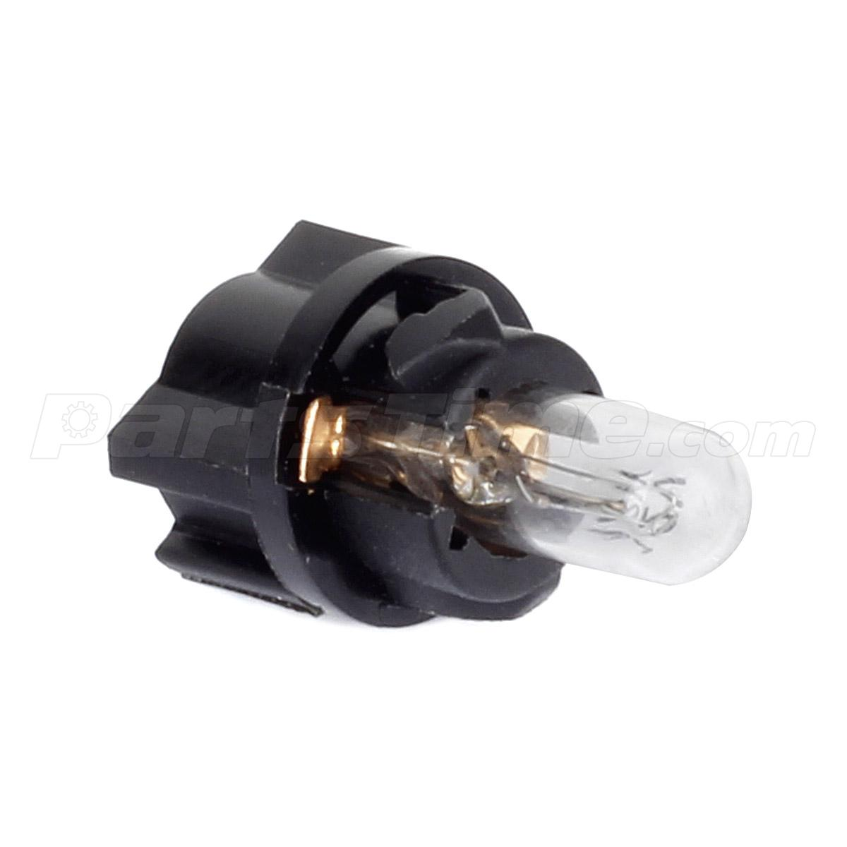 60x T5 74 Led Dashboard Speedometer Gauge Indicator Light: 10x T5 Bright White Halogen Light Bulbs 73 74 Instrument