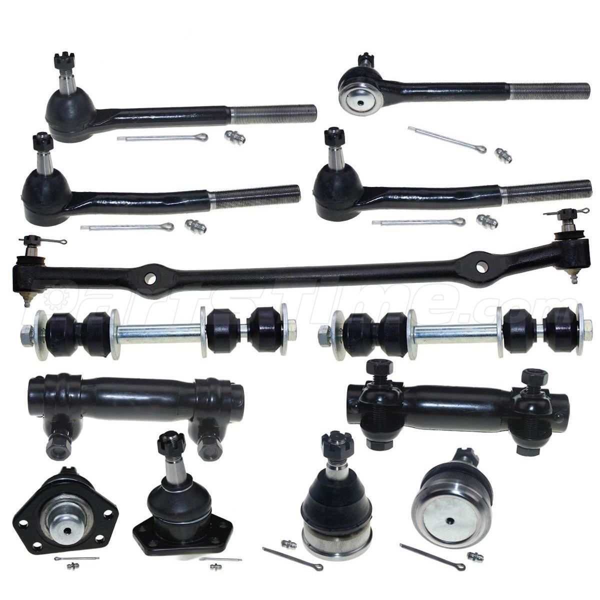1996 Oldsmobile 98 Suspension: For 1977-1996 Chevrolet Caprice Ball Joint Tie Rod Sway