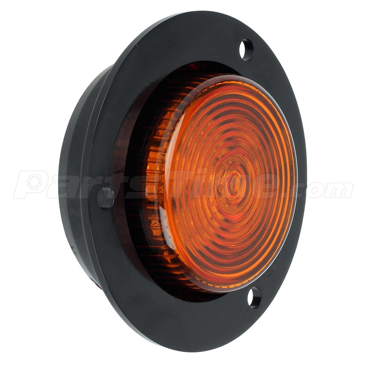 2 Sealed  2 U0026quot  Round  Led Clearance  U0026 Side Marker Light