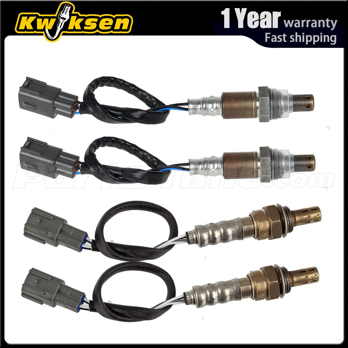 4pcs Air Fuel Ratio Oxygen Sensor 1 2 For 2005 2006 Toyota Sequoia Tundra 4 7l