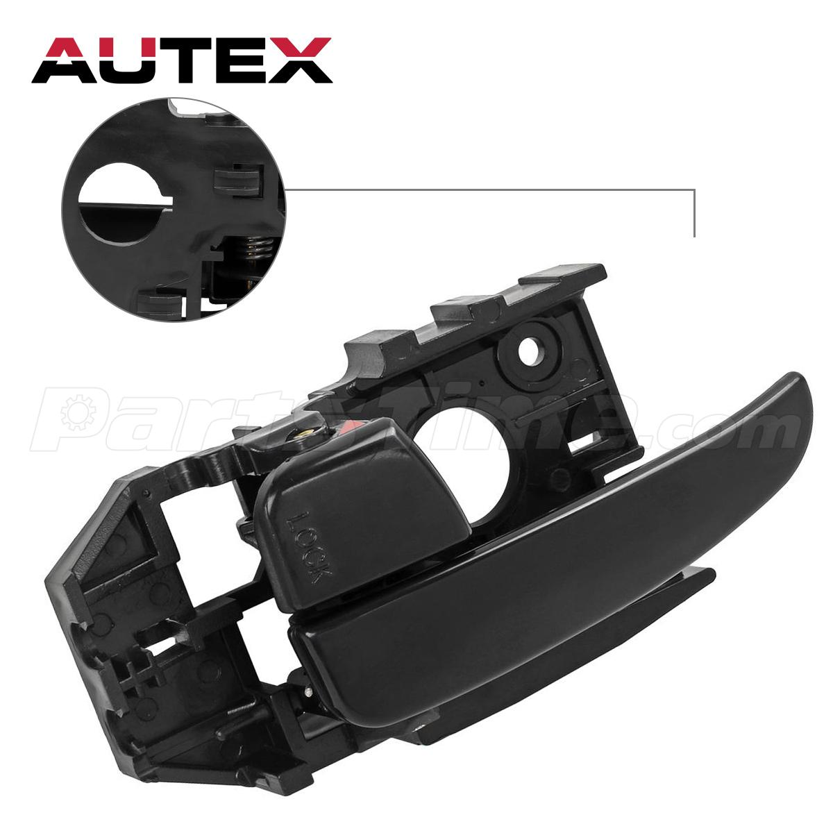 New Replacement Door Handle Front Left Inside Black For 2001 06 Hyundai Elantra Ebay